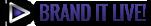 Brand It Live - Blue Lightning Track Sponsor
