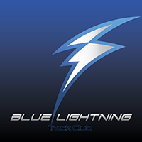 Blue Lightning Track Club Logo
