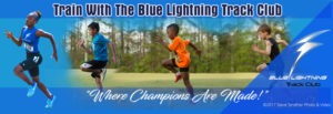 Speed and Endurance Training with the Blue Lightning Track Club