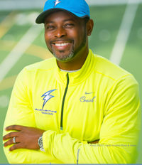 Coach Sayon Cooper is 2-Time Olympian, Head Coach of The Liberian Olympic Team, and Sprint Coach for Blue Lightning Track Club, Conyers, GA
