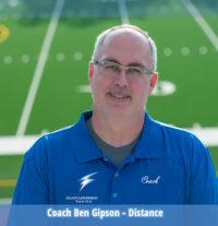 Coach Ben Gipson, Distance & Racewalk, Blue Lightning Track Club, Conyers, GA