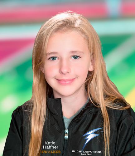 Katie Haffner, Blue Lightning Track Club