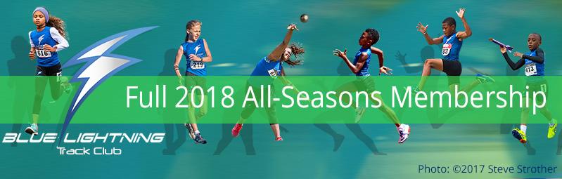 Blue Lightning Track Club Full-2018-Membership