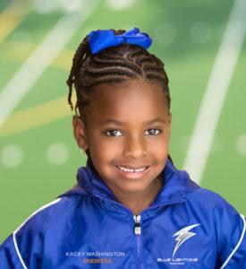 Kacey Washington, Blue Lightning Track Club