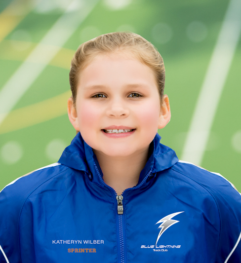 Katheryn Wilber, Blue Lightning Track Club