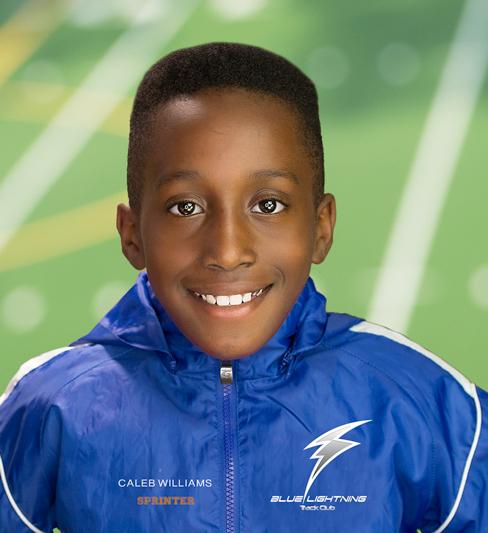 Caleb Williams, Blue Lightning Track Club
