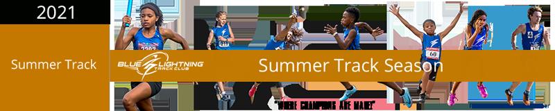 Blue Lightning Track Club Summer Season Track Club Membership