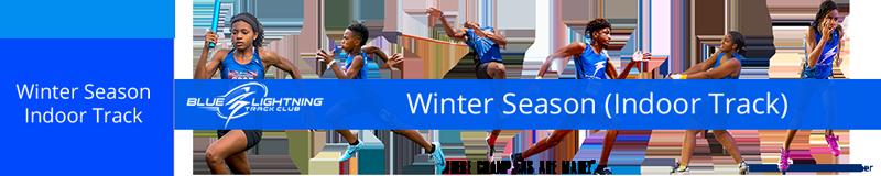 Blue Lightning Track Club - Winter Indoor Track Season